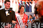 Luxembourg Rose Nicola McEvoy makes her way down the aisle of the Dome just after being crowned the 2012 Rose of Tralee.