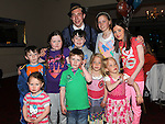 Ciaran Collier Holdcroft celebrating his 21st birthday in the Boyne Valley hotel with all his cousins. Photo: Colin Bell/pressphotos.ie
