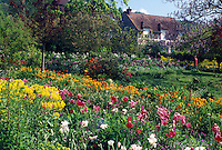 Claude Monet, Giverny, Eure, Normandy, Paris, France, Europe, Claude Monet Country Home and Gardens in Giverny .