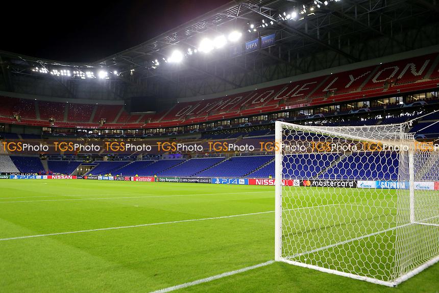 General view of the Groupama Stadium during Lyon vs Manchester City, UEFA Champions League Football at Groupama Stadium on 27th November 2018