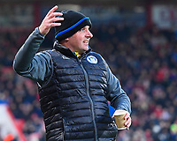 Wigan Athletic Manager Paul Cook during AFC Bournemouth vs Wigan Athletic, Emirates FA Cup Football at the Vitality Stadium on 6th January 2018