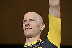 Jos Van Emden (NED) Team Lotto NL-Jumbo on stage at the Team Presentation in Burgplatz Dusseldorf before the 104th edition of the Tour de France 2017, Dusseldorf, Germany. 29th June 2017.<br /> Picture: Eoin Clarke | Cyclefile<br /> <br /> <br /> All photos usage must carry mandatory copyright credit (&copy; Cyclefile | Eoin Clarke)
