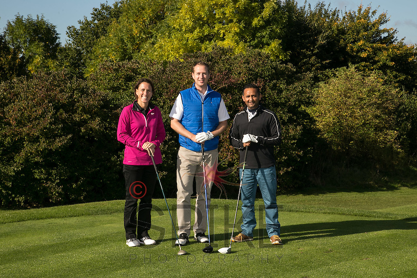 Pictured from left are the Inside Out team of Donna Bickley, Kris James and Nilesh Mistry