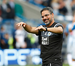 David Wagner manager of Huddersfield Town during the premier league match at the John Smith's Stadium, Huddersfield. Picture date 20th August 2017. Picture credit should read: Simon Bellis/Sportimage