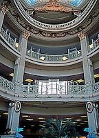 San Francisco:   Neiman Marcus Interior.  (Note similarity to Samaritaine in Paris.)  Photo '89.