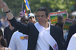 New York State Attorney General Andrew Mark Cuomo attends the 43rd Annual West Indian Carnival Festival - 2010 - Labor Day Parade, Brooklyn New York