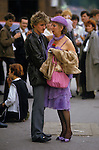 "Couple ""age difference"" [Royal Ascot] Horse racing Berkshire  England"