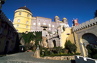 Castello Di Sintra in the town of Sintra, Portugal