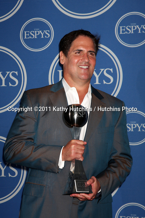 LOS ANGELES - JUL 13:  Mark Cuban in the Press Room of the 2011 ESPY Awards at Nokia Theater at LA Live on July 13, 2011 in Los Angeles, CA