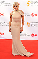 Michelle Collins at the Virgin TV British Academy (BAFTA) Television Awards 2018, Royal Festival Hall, Belvedere Road, London, England, UK, on Sunday 13 May 2018.<br /> CAP/CAN<br /> &copy;CAN/Capital Pictures