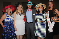 NWA Democrat-Gazette/CARIN SCHOPPMEYER Shannon Overton (from left) Amber Forga, Russ Taylor Stacye Peebles and Darynne Dahlem help Circle of Friends raise money for Arkansas Children's on May 6.