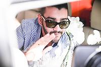 SAO PAULO, SP, 02.04.2015 - ATO GUSTAVO LIMA DEIXA HOSPITAL EM SP -  O cantor Gusttavo Lima, acompanhado da noiva, Andressa Suíta, deixa o hospital Albert Einstein do Morumbi, na zona sul de São Paulo, nesta quinta-feira(2). O cantor estava internado desde o último sábado (28) devido à problemas gástricos.  (Douglas Pingituro / Brazil Photo Press)