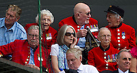 Chelsea Pensioners watching Andy Murray (GBR) (4) against Jo-Wilfred Tsonga (FRA) (10) in the Quarter Finals of the gentlemen's singles. Andy Murray beat Jo-Wilfred Tsonga 6-7 7-6 6-2 6-2 ..Tennis - Wimbledon Lawn Tennis Championships - Day 9 Wed 30 Jun 2010 -  All England Lawn Tennis and Croquet Club - Wimbledon - London - England..© FREY - AMN IMAGES  Level 1, Barry House, 20-22 Worple Road, London, SW19 4DH.TEL - +44 (0) 20 8947 0100.Email - mfrey@advantagemedianet.com.www.advantagemedianet.com