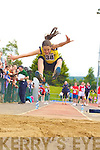 Anna Prenderville Ballymac competing in the long jump at the Denny County Community Games in An Riocht Castleisland on Sunday                  Copyright Kerry's Eye 2008