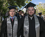 Mike Wilson and Robert McKay during the University of Nevada College of Engineering, College of Science and Orvis School of Nursing graduation ceremony on Thursday evening, May 18, 2017.