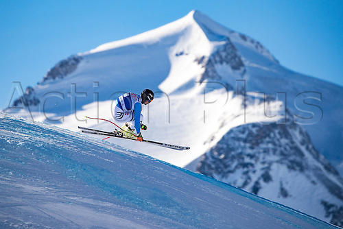 01.12.2016, Val d Isere, France.  FIS World Cup Alpine skiing , Val d Isere, Training. Tobias Stechert (GER) in action during the 2nd practice run