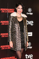 "May Allen attends ""La Ignorancia de la Sangre"" Premiere at Capitol Cinema in Madrid, Spain. November 13, 2014. (ALTERPHOTOS/Carlos Dafonte) /NortePhoto nortephoto@gmail.com"