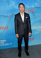 "LOS ANGELES, USA. October 17, 2019: Rob Yang at the premiere of ""Living With Yourself"" at the Arclight Theatre, Hollywood.<br /> Picture: Paul Smith/Featureflash"