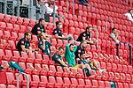 Bremer Bank auf der Tribuene, enttäuscht / enttaeuscht / traurig, Michael Lang (Werder Bremen #04), Christian Groß / Gross (Werder Bremen #36), Stefanos Kapino (Werder Bremen #27), Leonardo Bittencourt  (Werder Bremen #10)<br /> <br /> <br /> Sport: nphgm001: Fussball: 1. Bundesliga: Saison 19/20: 33. Spieltag: 1. FSV Mainz 05 vs SV Werder Bremen 20.06.2020<br /> <br /> Foto: gumzmedia/nordphoto/POOL <br /> <br /> DFL regulations prohibit any use of photographs as image sequences and/or quasi-video.<br /> EDITORIAL USE ONLY<br /> National and international News-Agencies OUT.