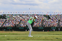 Jamie Lovemark (USA) tees off the par3 9th tee during Saturday's Round 3 of the 117th U.S. Open Championship 2017 held at Erin Hills, Erin, Wisconsin, USA. 17th June 2017.<br /> Picture: Eoin Clarke | Golffile<br /> <br /> <br /> All photos usage must carry mandatory copyright credit (&copy; Golffile | Eoin Clarke)