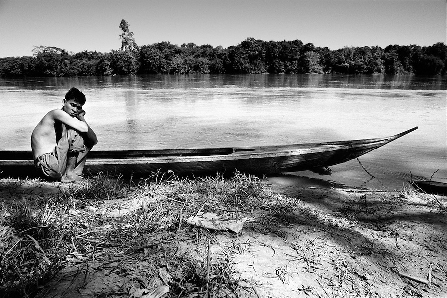 """Mekong Dam Victims - Cambodia. Following the construction of big dams on the Sesan river fish has almost disappeared completely and local fishermen have remained out of work. At least 55.000 people living near the Sesan river in Cambodia's Ratanakiri and Stung Treng provinces continue to suffer due to lost rice production, lost fishing income, drowned livestock and damaged vegetable gardens, and so also great economical losses, because of the unpredictable floodings from the Yali Falls Dam on the other side of the border in Vietnam. To this day, flash floodings have caused the deaths of at least 39 villagers from various ethnic minority groups living along the river. Despite this, four other major hydropower projects are now in operation or under construction on the Sesan River in Vietnam. Known as """"The Mother of Waters"""", more than 60 million people depend on the Mekong river and its tributaries for food, fresh water, transport and other aspects of daily life. The construction of big dams is now threatening the life of these people aswell as the vital and unique ecosystem of the river."""
