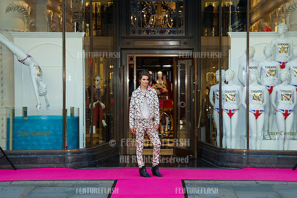 Tali Lennox opens the Juicy Couture flagship store, Regent Street, London. 24/07/2012 Picture by: Steve Vas / Featureflash
