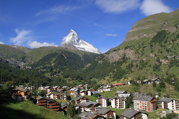 Switzerland, Matterhorn.  <br />
