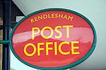 Post Office sign Rendlesham Suffolk