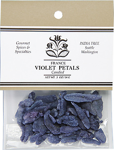 20305 Candied Violet Petals, Caravan 0.5 oz, India Tree Storefront