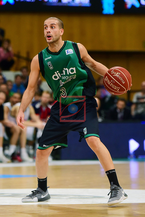 League ACB-ENDESA 2016/2017. Game: 5.<br /> Divina Seguros Joventut vs Baskonia: 83-90.<br /> Albert Sabat.