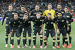 Sevilla's team photo during La Liga match. March 20,2016. (ALTERPHOTOS/Acero)