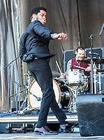 Vintage Trouble performs at Voodoo Fest 2012 in New Orleans, LA.