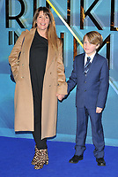 Patty Jenkins and her son at the &quot;A Winkle In Time&quot; European film premiere, BFI Imax, Waterloo, London, England, UK, on Tuesday 13 March 2018.<br /> CAP/CAN<br /> &copy;CAN/Capital Pictures /MediaPunch ***NORTH AND SOUTH AMERICAS ONLY***