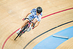 Tai Wai Hin of Noble Cycling Team hk in action during the Youth Qualifying (200M Flying Start) at the Hong Kong Track Cycling Race 2017 Series 5 on 18 February 2017 at the Hong Kong Velodrome in Hong Kong, China. Photo by Marcio Rodrigo Machado / Power Sport Images
