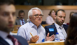 Brussels, Belgium - June 28, 2017; <br /> 'Missing links - making trade work for workers / exploring future avenues for the social dimension of EU trade policies' - a panel discussion in the EP hosted /held by MEP Bernd Lange and Friedrich-Ebert-Stiftung, with i.a. Corinne Vargha (ILO), MEP Bernd Lange, Philip Blenkinsop, Cecilia Malmstroem (EU-Commission), Ken Ash (OECD) and Do Quynh Chi;<br /> Photo: © HorstWagner.eu