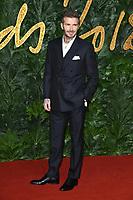 LONDON, UK. December 10, 2018: David Beckham at The Fashion Awards 2018 at the Royal Albert Hall, London.<br /> Picture: Steve Vas/Featureflash