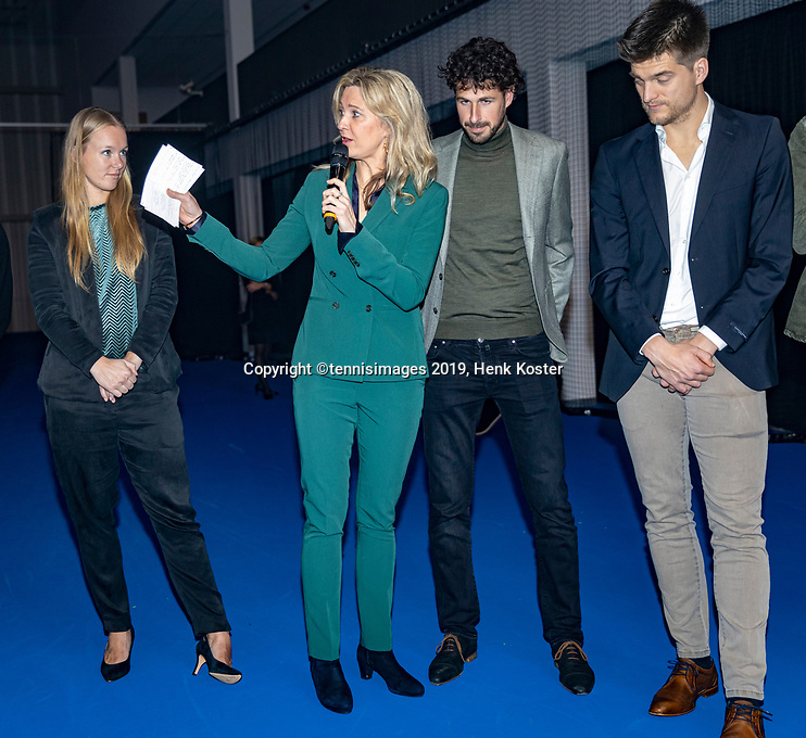 Amstelveen, Netherlands, 12 December, 2019, Opening National Tennis Center, NTC, <br /> Photo: Henk Koster/tennisimages.com
