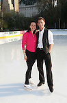 Skaters Sarah Hughes & Todd Eldredge at Skating with the Stars (celebrities & Olympic skaters), a benefit gala for Figure Skating in Harlem on April 6, 2010 at Wollman Rink, Central Park, New York City, New York. (Photo by Sue Coflin/Max Photos)