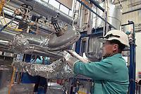 - ENEA, Ente Nazionale per le Nuove tecnologie, Energia e Ambiente, centro ricerche del lago Brasimone (Bologna); sviluppo di tecnologie della fusione termonucleare controllata, sistemi nucleari innovativi e monitoraggio ambientale; Impianto LECOR (LEad CORrosion)  per l' esecuzione di prove di corrosione su materiali e componenti  refrigerati a leghe di piombo bismuto....- ENEA, National agency for the New technology, Energy and Atmosphere, research center  of the Brasimone lake (Bologna); development of technologies for the controlled thermonuclear fusion, innovating nuclear systems and environmental monitoring; LECOR System (LEad CORrosion) for the execution of tests of corrosion on materials and parts refrigerated with leagues of lead bismuth