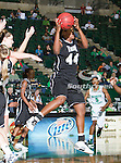 Troy Trojans forward Tenia Manuel (44) in action during the game between the Troy Trojans and the University of North Texas Mean Green at the North Texas Coliseum,the Super Pit, in Denton, Texas. UNT defeats Troy 57 to 36.....