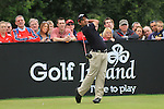 Shiv Kapur (IND) tees off on the 12th tee during the Final Day Sunday of The Irish Open presented by Discover Ireland at Killarney Golf & Fishing Club on 31st July 2011 (Photo Fran Caffrey/www.golffile.ie)