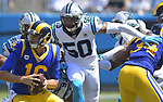 Carolina Panthers vs. L. A. Rams NFL Football