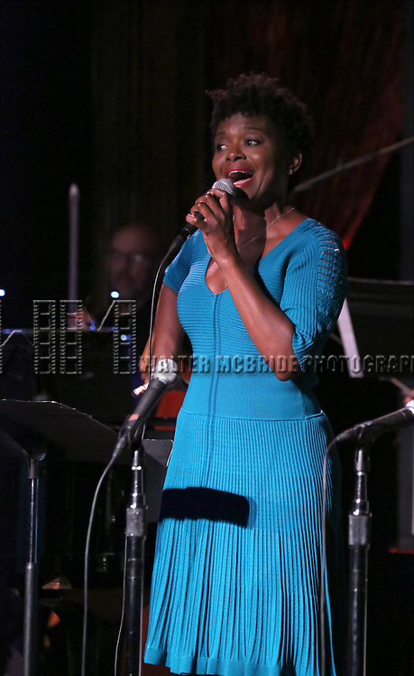 La Chanze performing at The Lilly Awards Broadway Cabaret at the Cutting Room on October 17, 2016 in New York City.