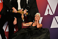 LOS ANGELES, CA. February 24, 2019: Mark Ronson, Lady Gaga, Anthony Rossomando & Andrew Wyatt at the 91st Academy Awards at the Dolby Theatre.<br /> Picture: Paul Smith/Featureflash