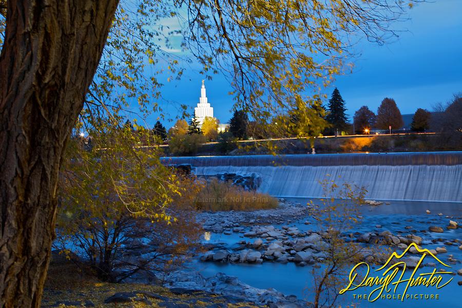 Fall Evening at The Falls at Idaho Falls