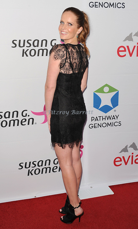 Rebecca Mader at the Pathway To The Cure for Breast Cancer A fundraiser benefiting Susan G. Komen held at private hangar at Santa Monica Airport Los Angeles, CA. June 12, 2014.
