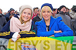 Marian Foley and Norrett Murphy Gneeveguilla fans at the AIB  Intermediate club Football Championship Semi Final at Mallow GAA Grounds on Sunday 30th January 2011.