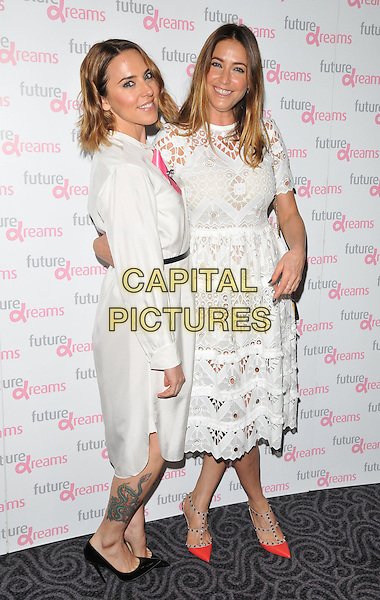 Melanie Chisholm ( Mel C ) &amp; Lisa Snowdon attend the Future Dreams Autumn Lunch, The Savoy Hotel, The Strand, London, England, UK, on Monday 05 October 2015. <br /> CAP/CAN<br /> &copy;CAN/Capital Pictures