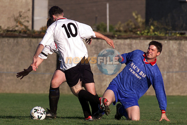 Action between Drogheda Town and Fermoy at Marian park..Picture: Paul Mohan/Newsfile
