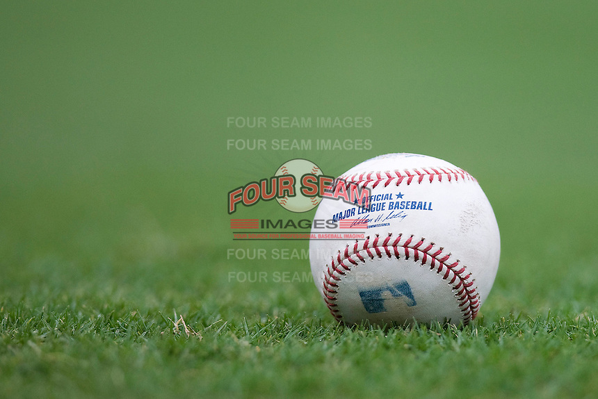 MLB Baseball. Image taken at the Dell Diamond on July 10, 2011in Round Rock, Texas. (Andrew Woolley / Four Seam Images)